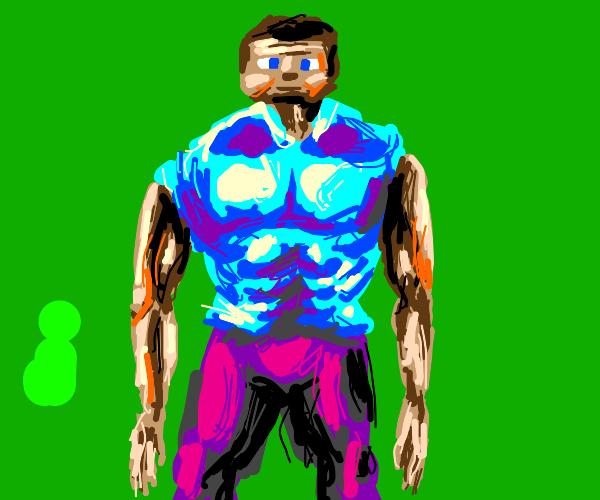 muscle steve minectaft