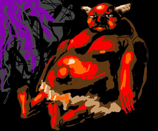 Devil let himself go
