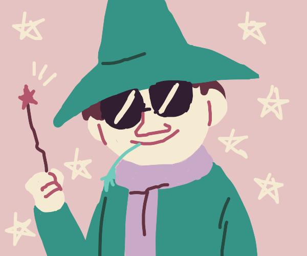 cool wizard snufkin