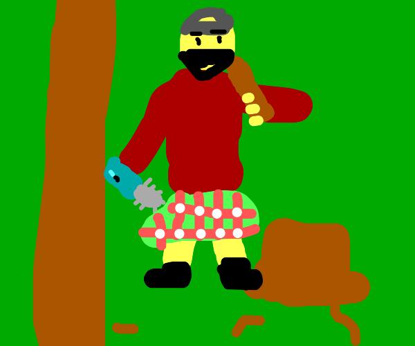 Scottish lumberjack