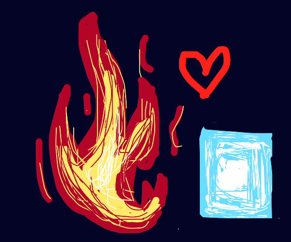 Fire & Ice in love