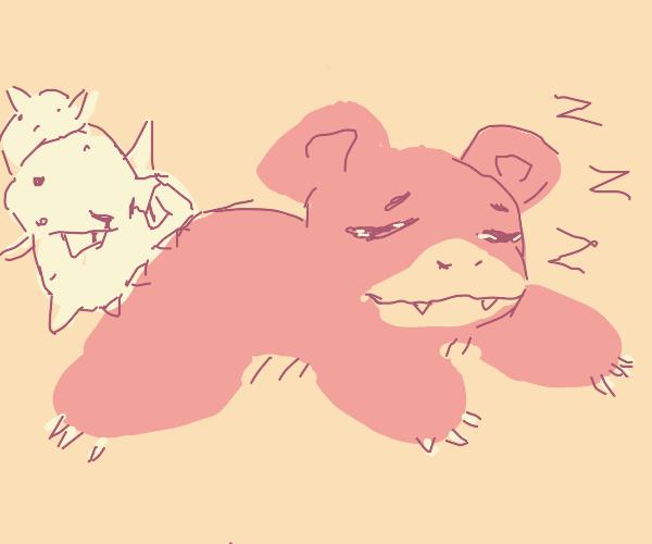 Sleeping Slowbro