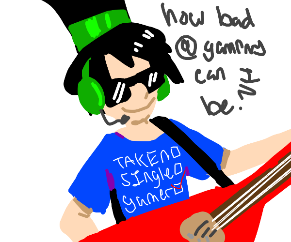 the onceler but he's a gamer