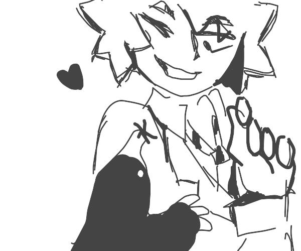 Bakugo has a mole on his arm