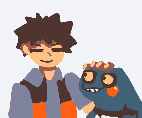 Brok and croagunk (Pokémon)