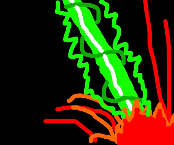 a deadly lazer