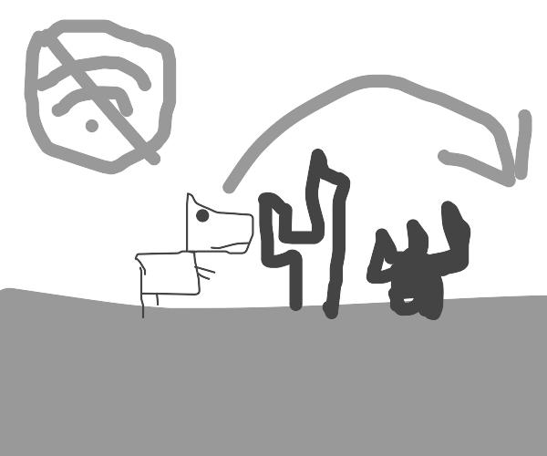 (no wifi) dinosaur game