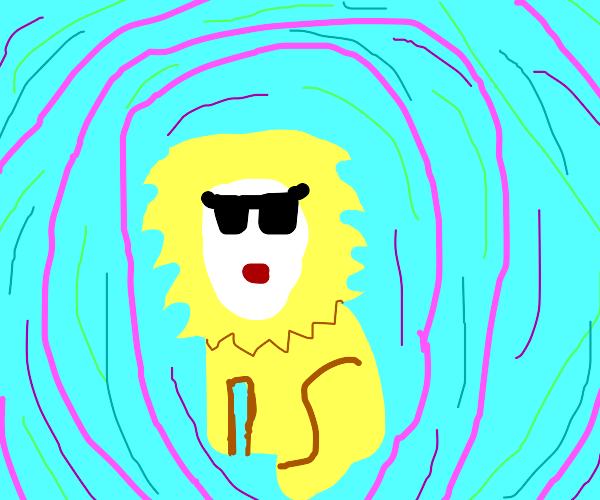 Lion on LSD