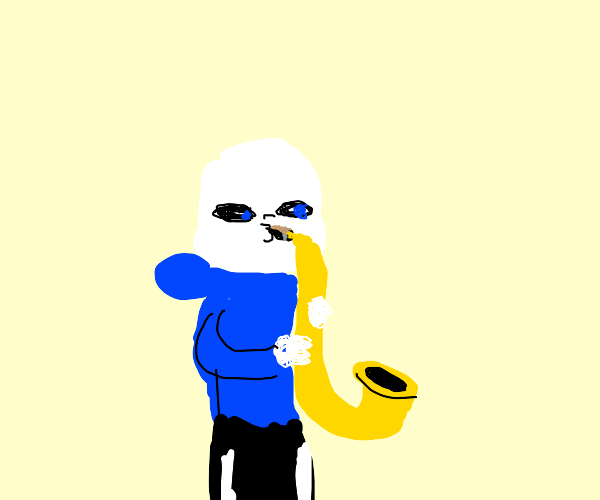 Sans likes Jazz