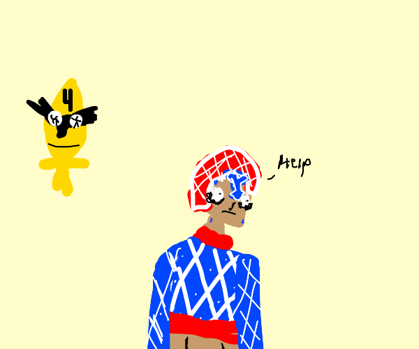 Mista being intimidated by the number 4
