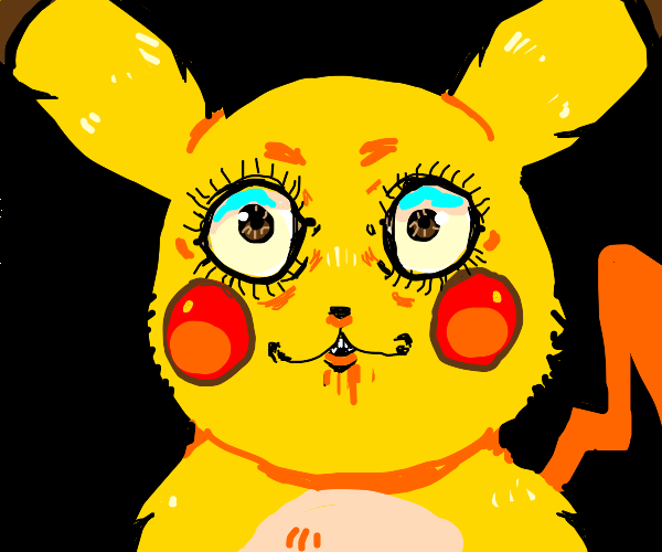 Pikachu Staring At You (R.I.P 4th wall)