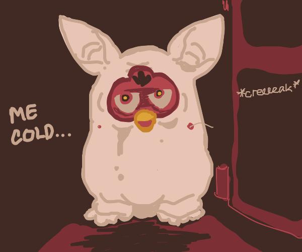 Furby with no fur
