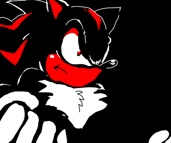 Shadow from sonic