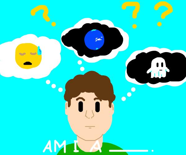 Confusion: Am I am emoji? A planet? A ghost?