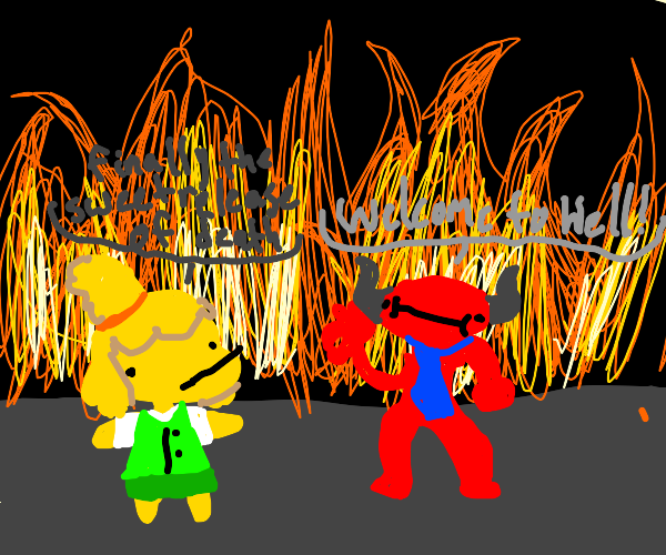 Isabelle in Hell