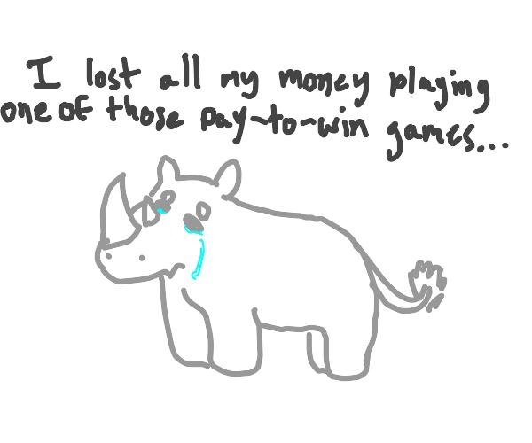 Poor Rhinoceros