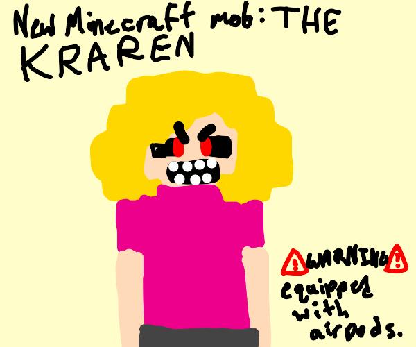Make a new Minecraft monster