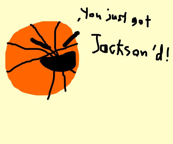 You got Jackson'd by Jackson the basket ball