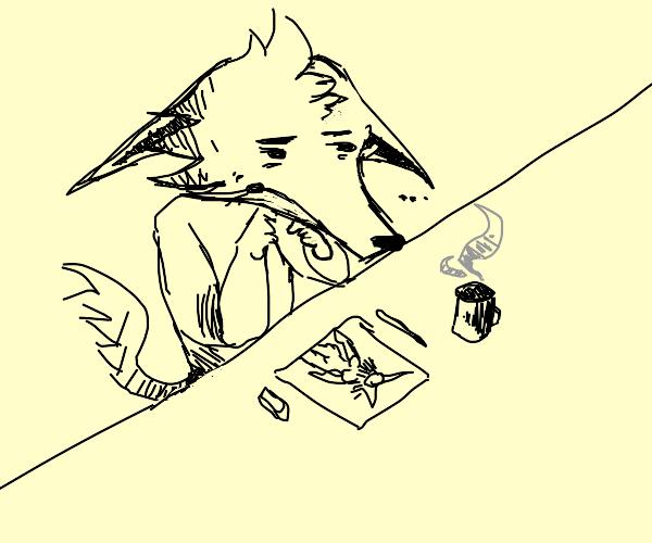 A strange commission request