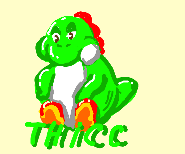 Yoshi dummy thicc