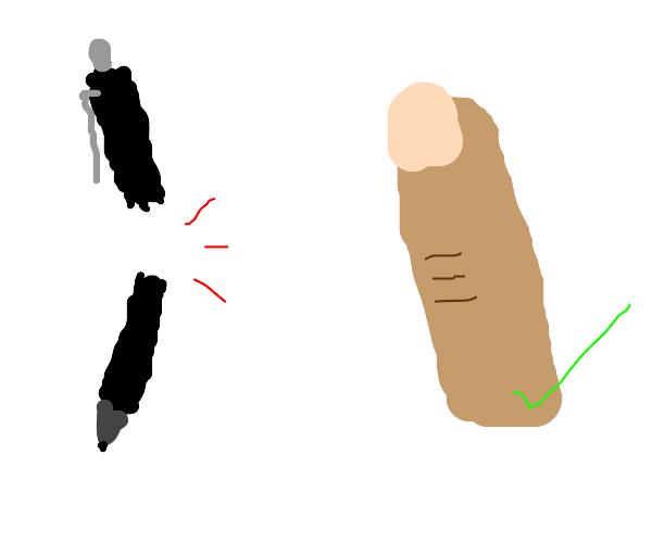 Pen is broken- please use finger