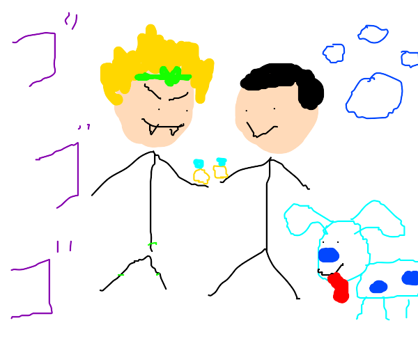 Dio marries man from blues clues