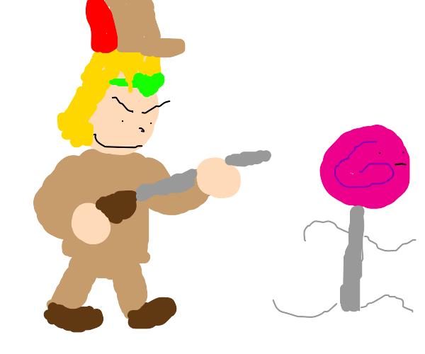 dio as elmer fudd hunting lolis