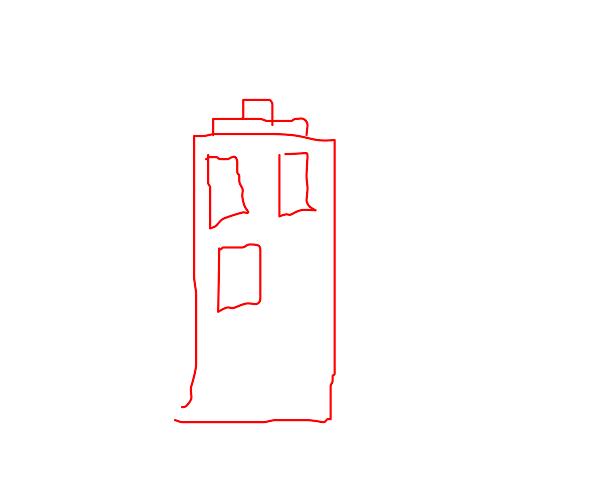 Red police box/alternative tardis