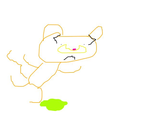 Garfield trips on acid