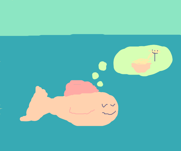 Fish dreams of noodles
