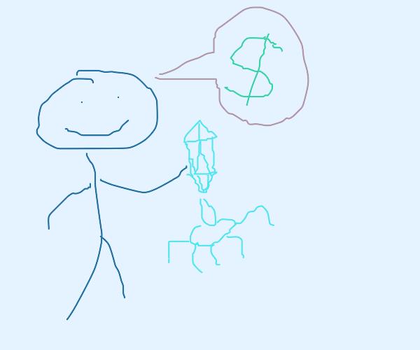 Selling Viruses