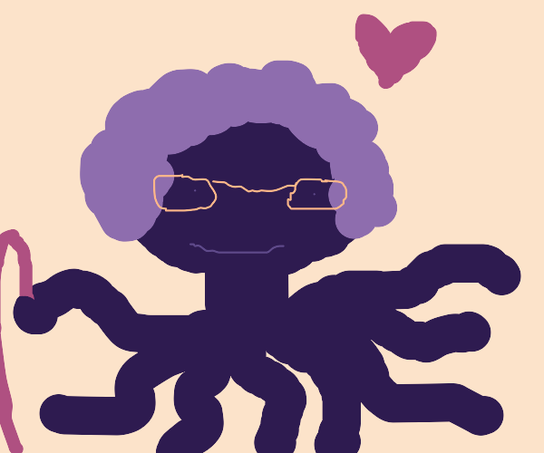grandma octopus monster