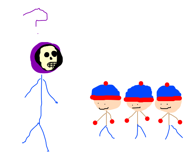 Skeletor doesn't understand why he has stans