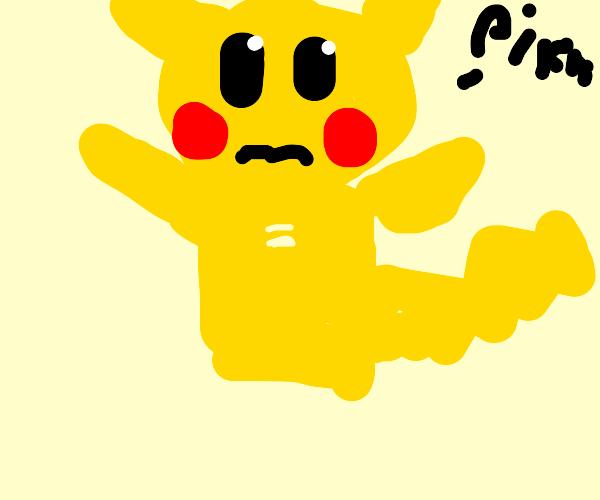 Pikachu lost his legs