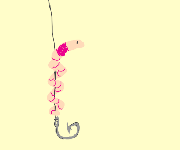 worm on a string