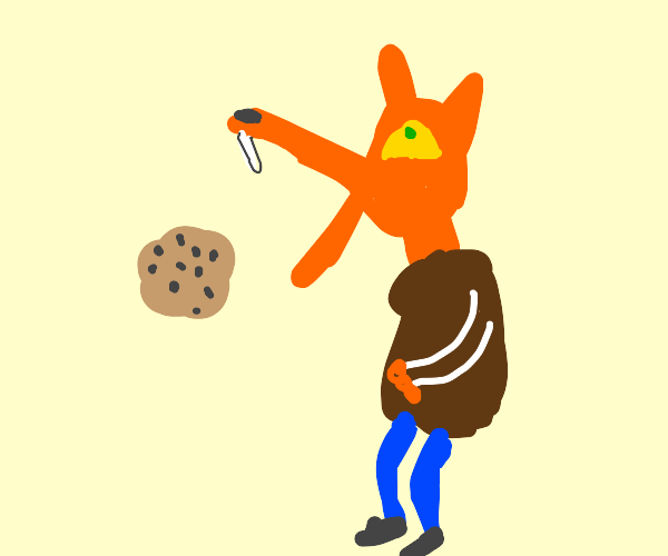 Fox throws up a cookie