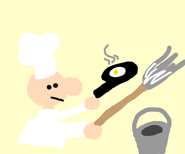 Cooking with a Mop