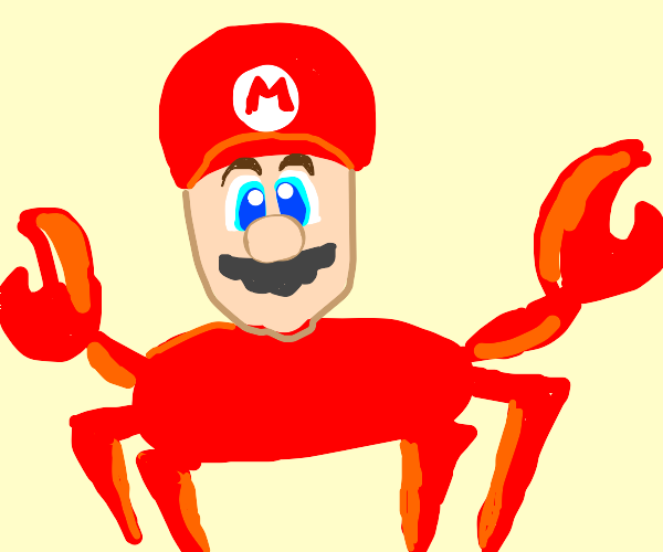 mario crab thing