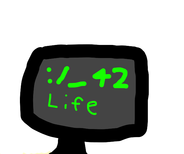 Computer tells the meaning of life