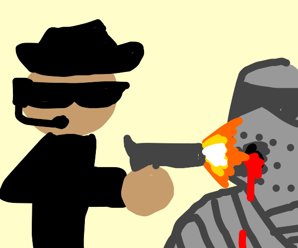 mafia shooting knight
