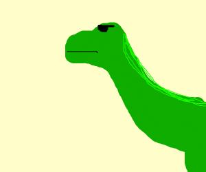 cool dino, specifically a tyrannosaures rex
