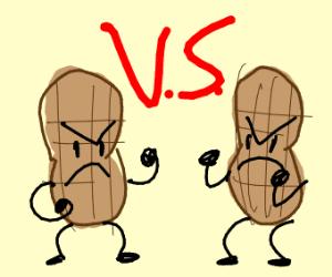 penut fight
