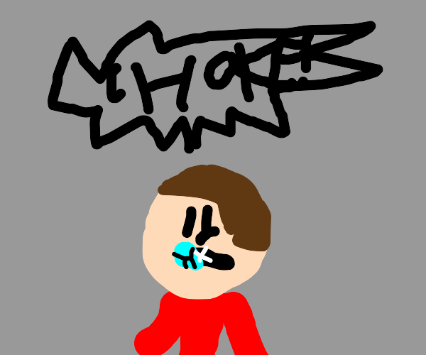 guy chokes on a diamond