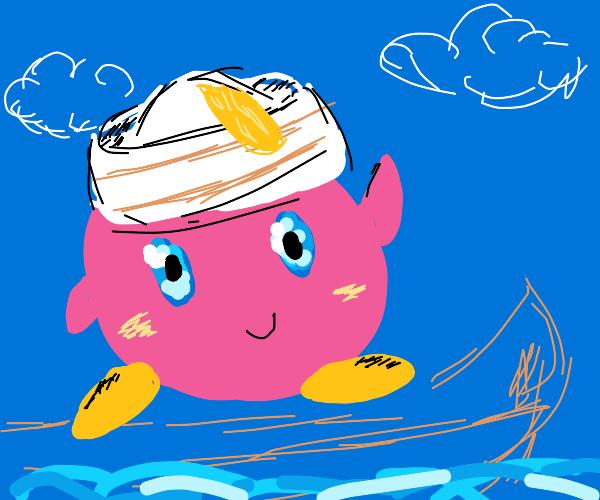 Kirby the sailor