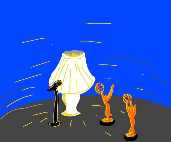 emmy award winning lamp