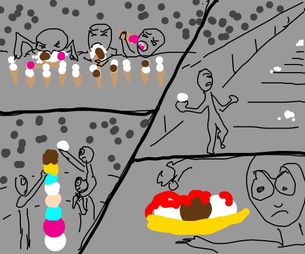 Ice cream Olympic Games