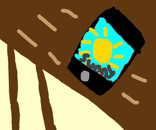 Phone forecast for 7/10/2020: hot and sunny.