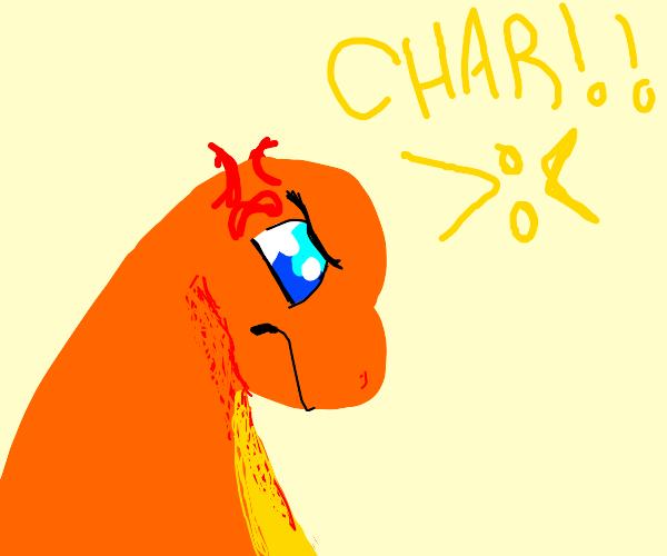 Charmander Is mad