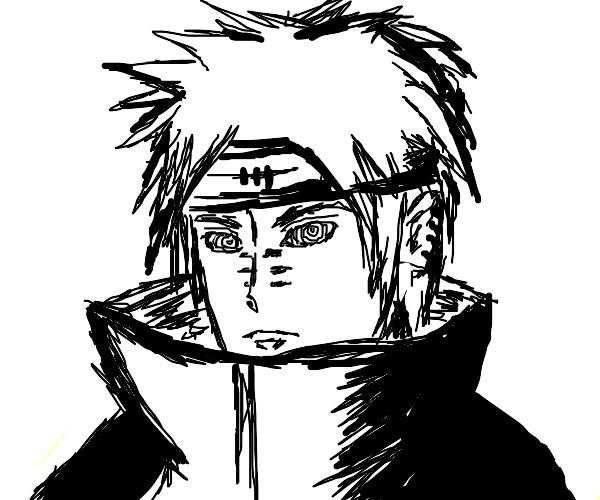 Pain from naruto (atkatsuki)