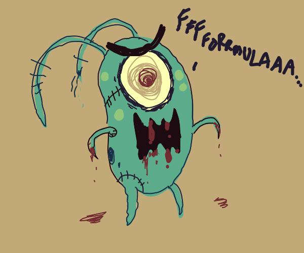 spoopy plankton (zombie?)